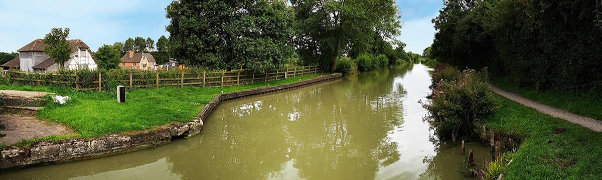 Wonderful canal walks